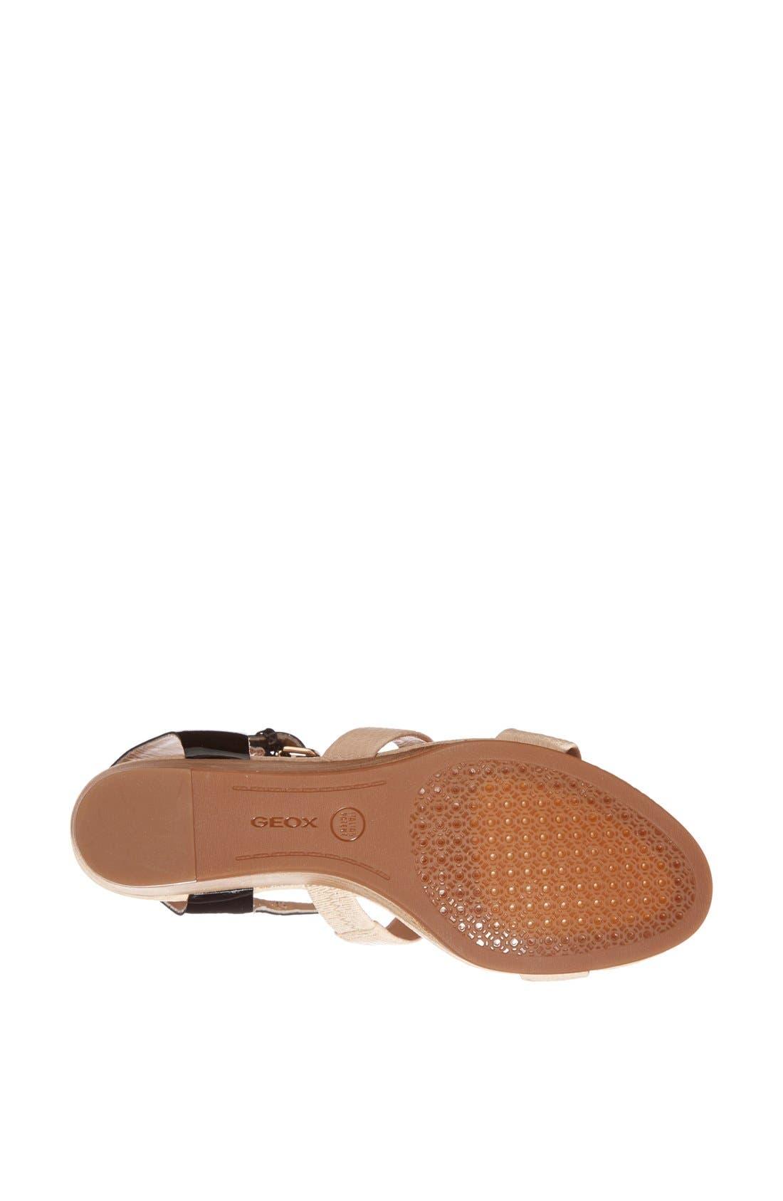 Alternate Image 4  - Geox 'Lupe' Leather Sandal