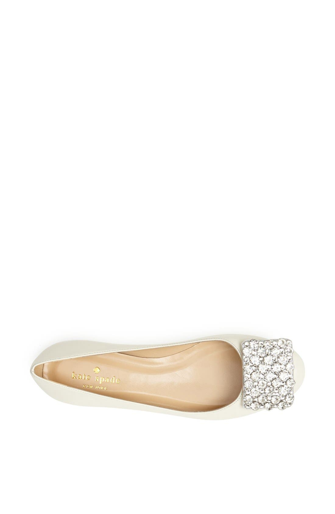 Alternate Image 4  - kate spade new york 'brilliant' nappa leather flat
