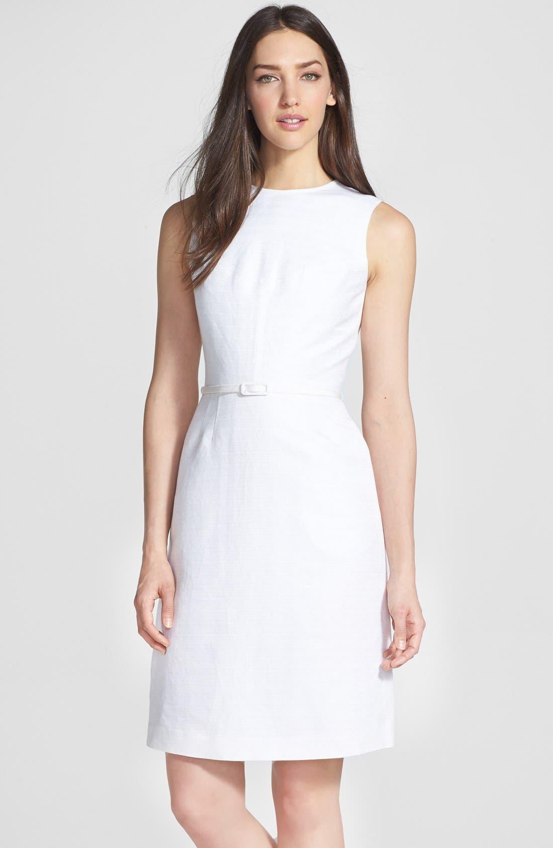 Alternate Image 1 Selected - Tory Burch 'Kimberly' Ottoman Sheath Dress