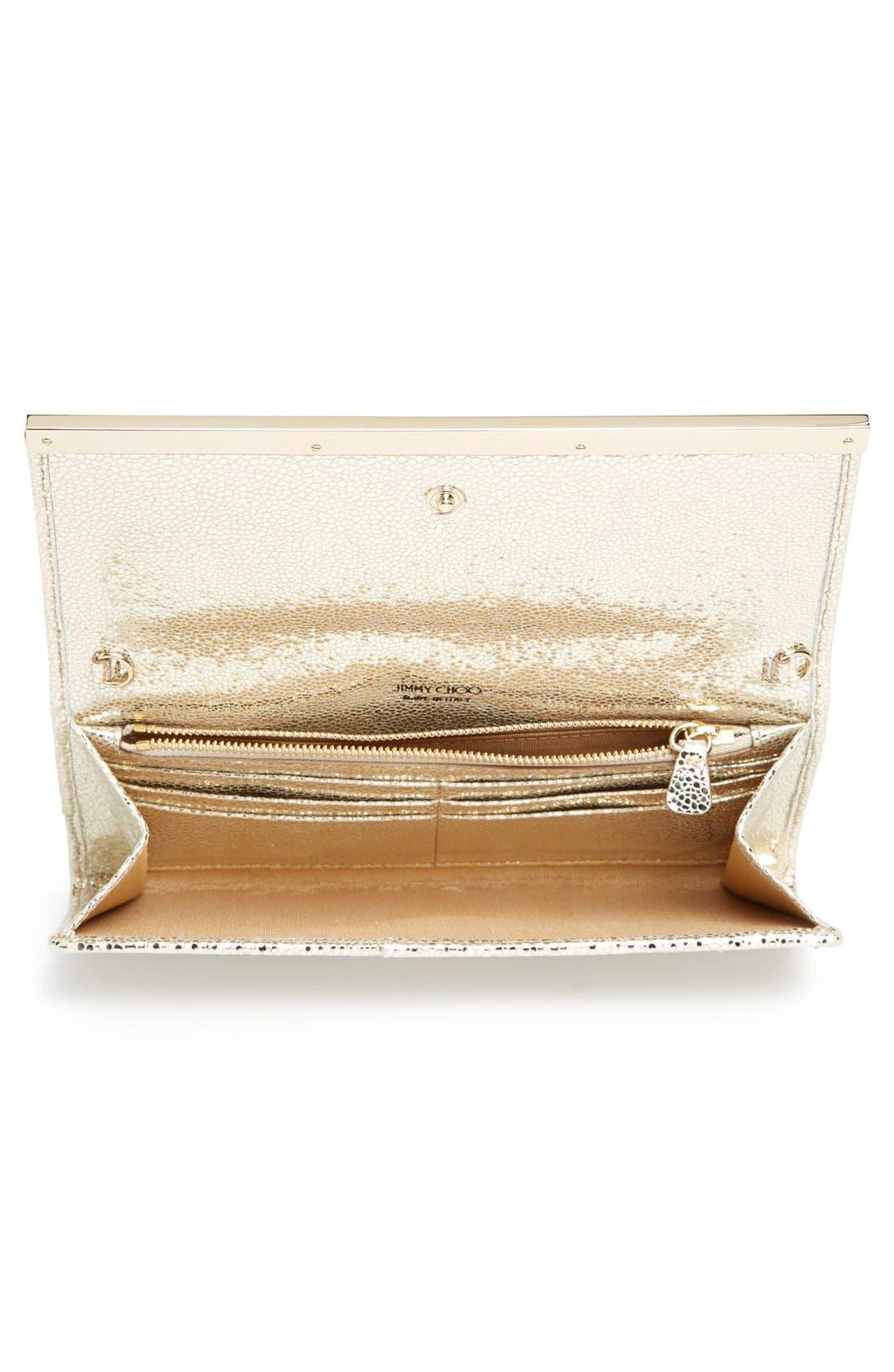 Alternate Image 4  - Jimmy Choo 'Milla' Glitter Wallet on a Chain