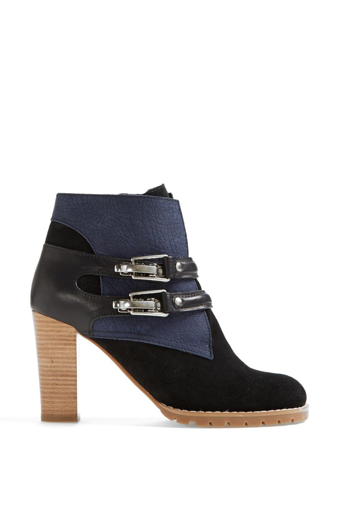 Alternate Image 4  - See by Chloé 'Katia' Suede & Leather Bootie