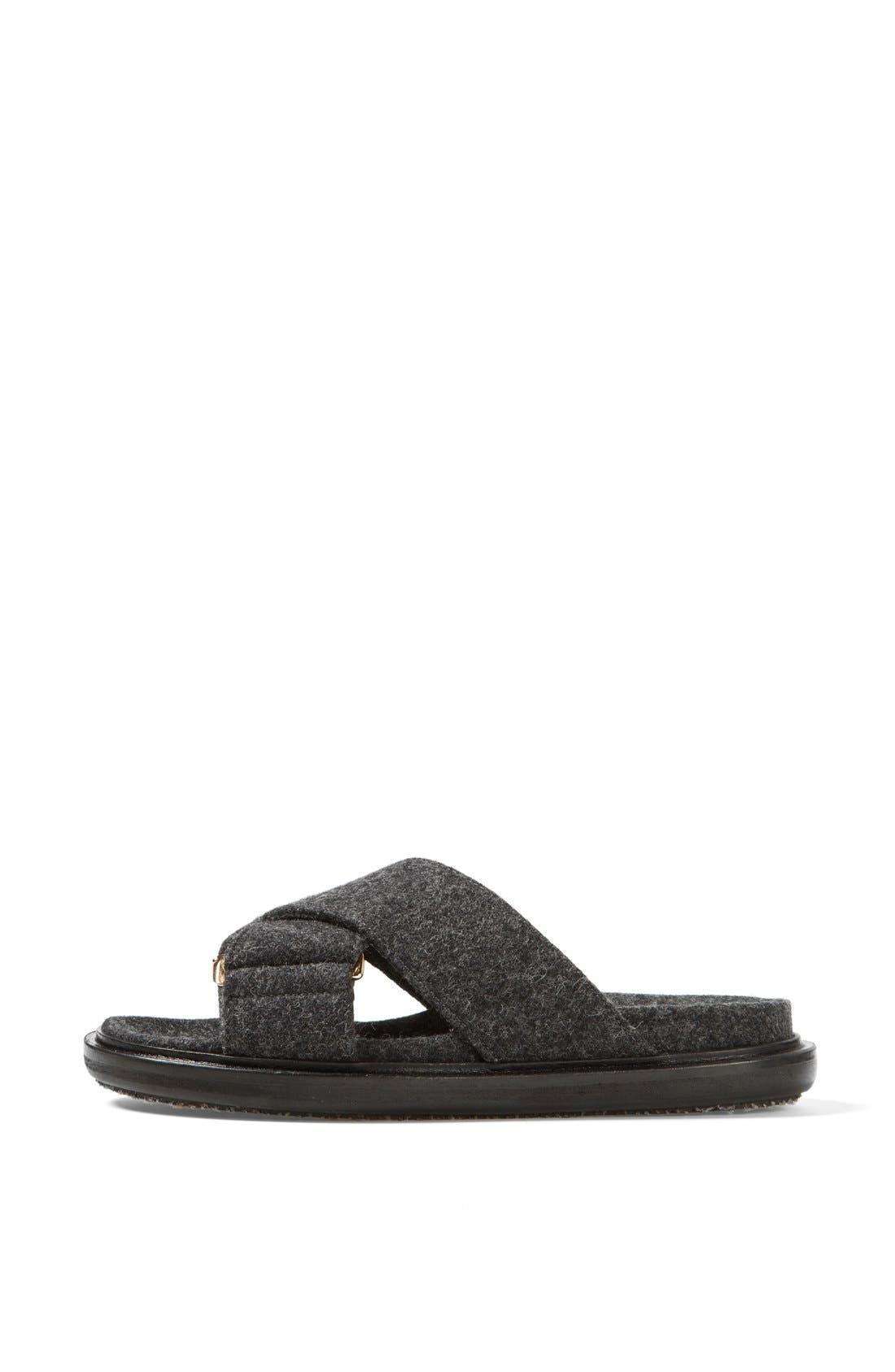 Alternate Image 4  - Marni Flannel Sandal