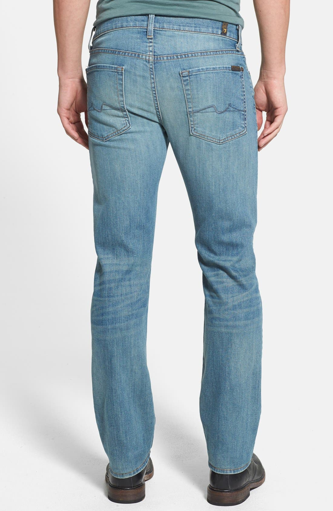 Alternate Image 2  - 7 For All Mankind® 'Slimmy' Slim Straight Leg Jeans (Authentic Vintage)