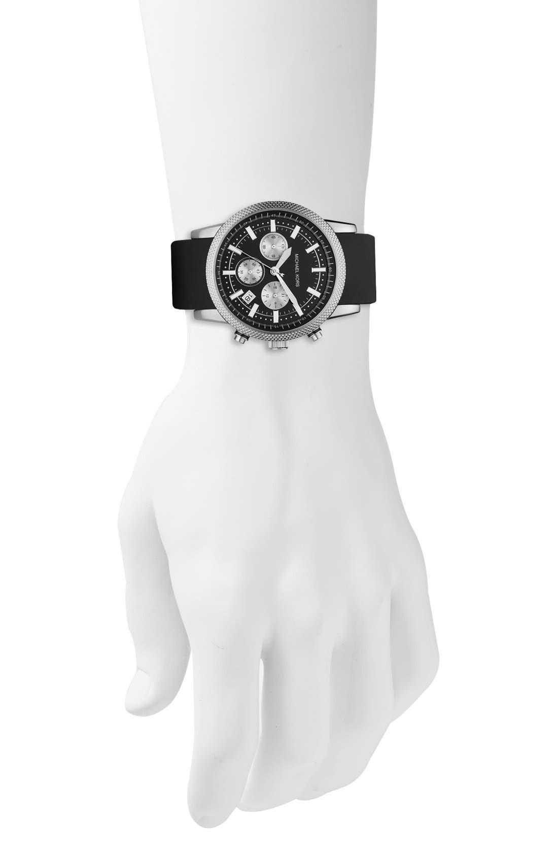 Alternate Image 4  - Michael Kors 'Scout' Chronograph Watch, 43mm