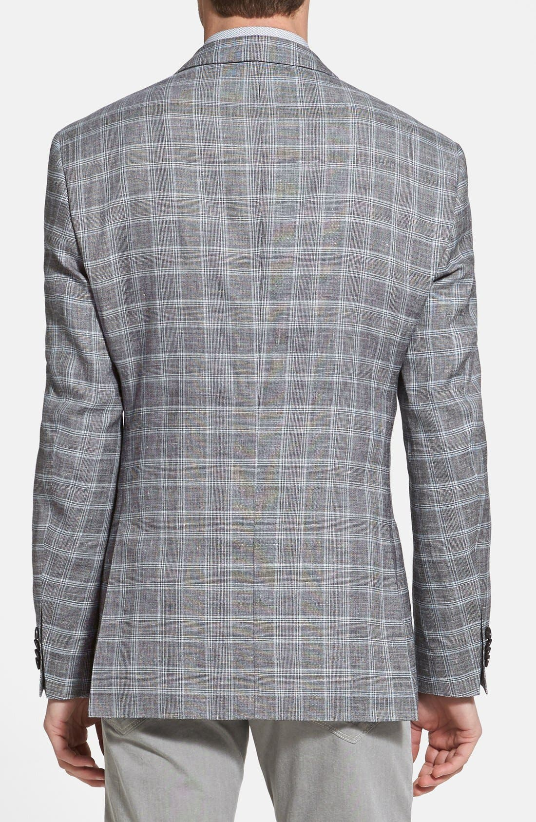 Alternate Image 2  - BOSS HUGO BOSS 'James' Trim Fit Plaid Sportcoat