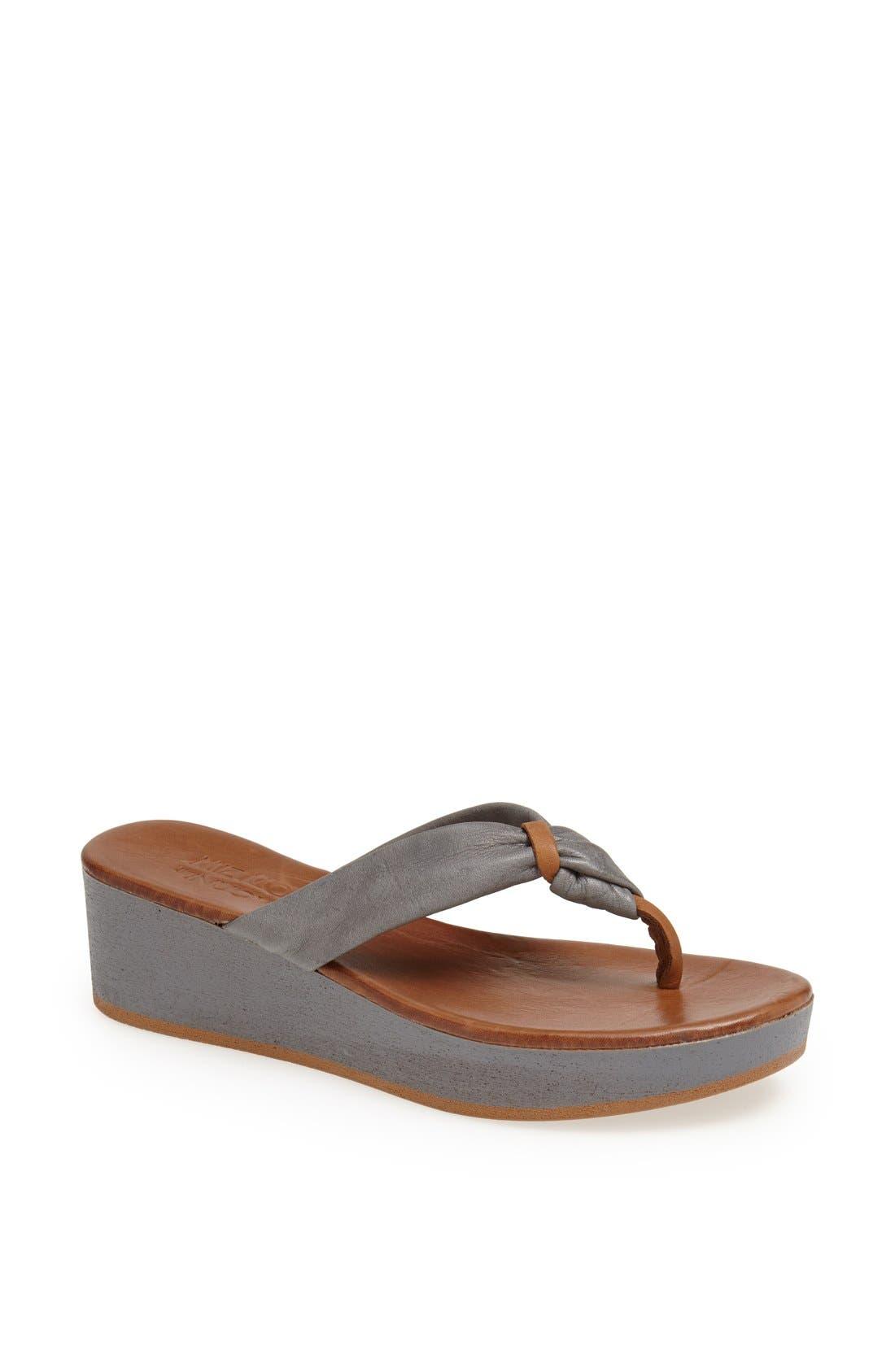 Alternate Image 1 Selected - Miz Mooz 'Belize' Leather Sandal
