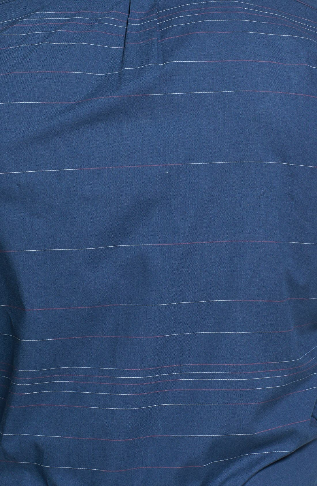 Alternate Image 3  - HUGO 'Ero' Slim Fit Stripe Sport Shirt