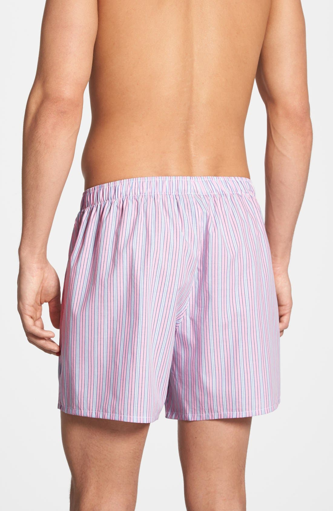Alternate Image 2  - Polo Ralph Lauren Woven Boxer Shorts