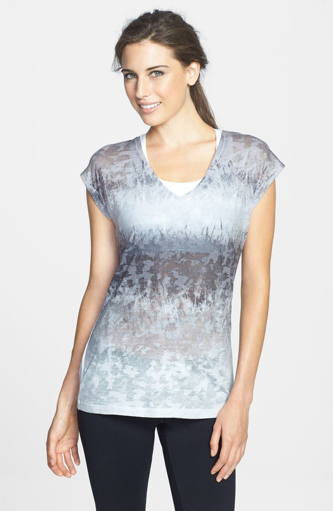 Alternate Image 1 Selected - The North Face 'Luminous' Burnout Tee