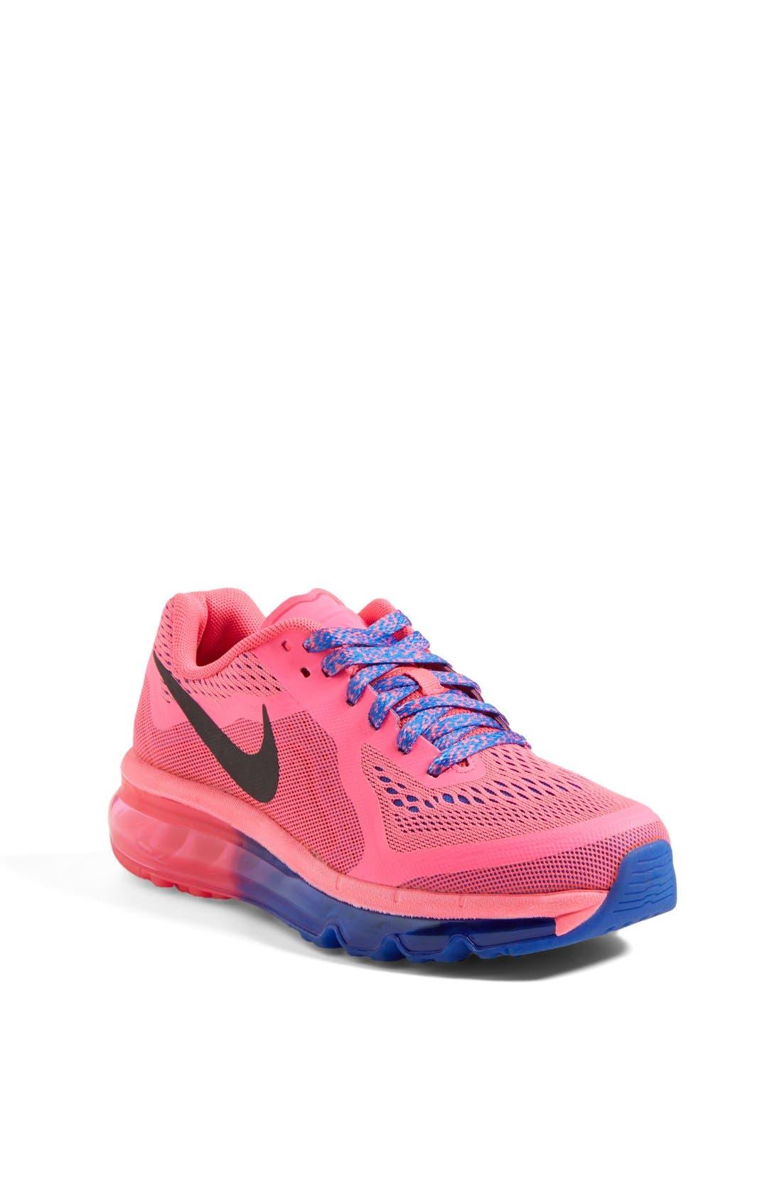 Alternate Image 1 Selected - Nike 'Air Max 2014' Running Shoe (Big Kid) (Online Only)