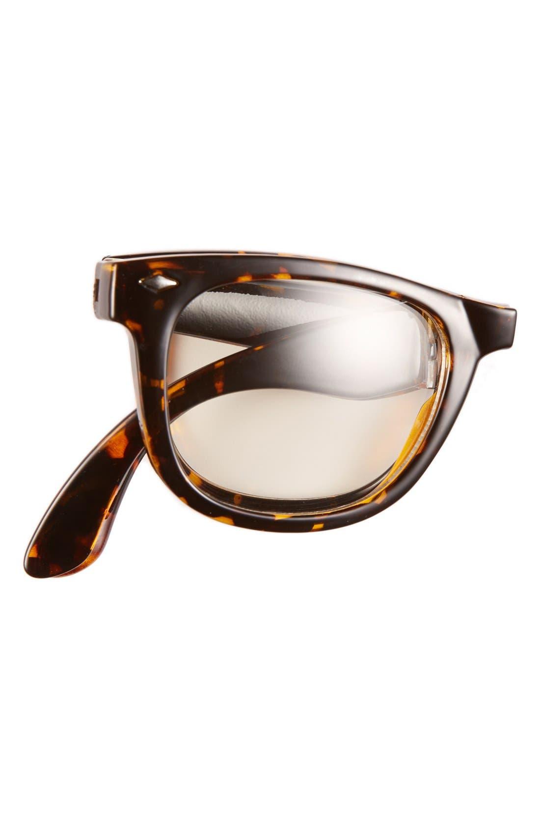 Alternate Image 2  - Icon Eyewear 'Ethan - Tortoise Tortoise' Foldable Glasses