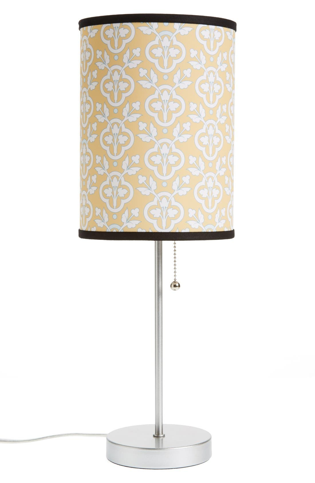 Alternate Image 1 Selected - LAMP-IN-A-BOX Medallion Table Lamp