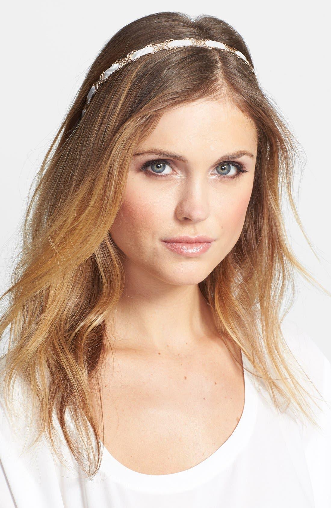 Main Image - Tasha 'Pretty and Preppy' Headband