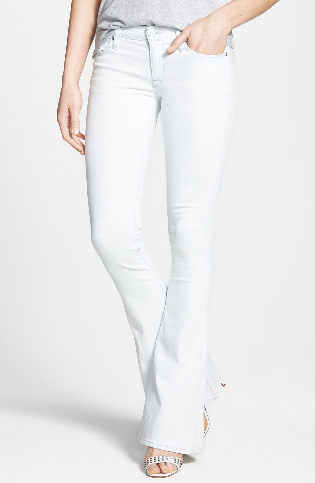 Alternate Image 1 Selected - Hudson Jeans 'Angel' Flared Jeans (Endless Summer)