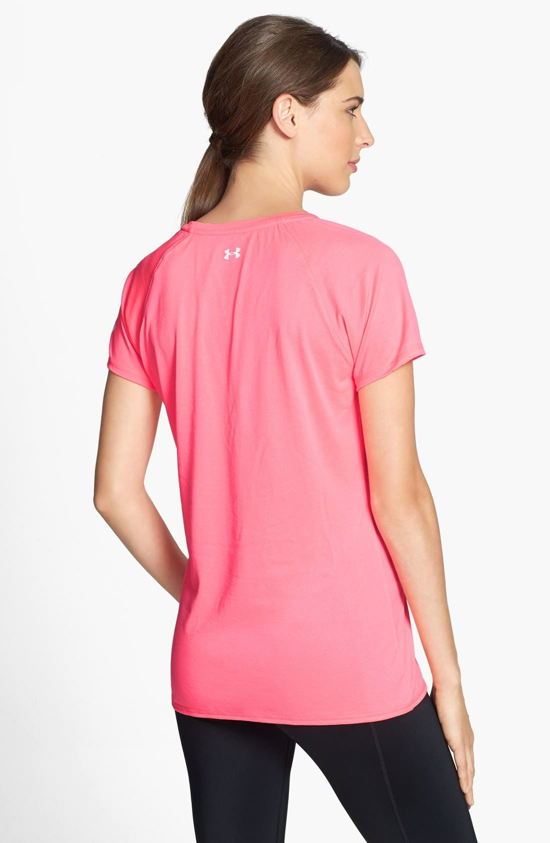 Alternate Image 2  - Under Armour 'I Race For' Power in Pink® Tee
