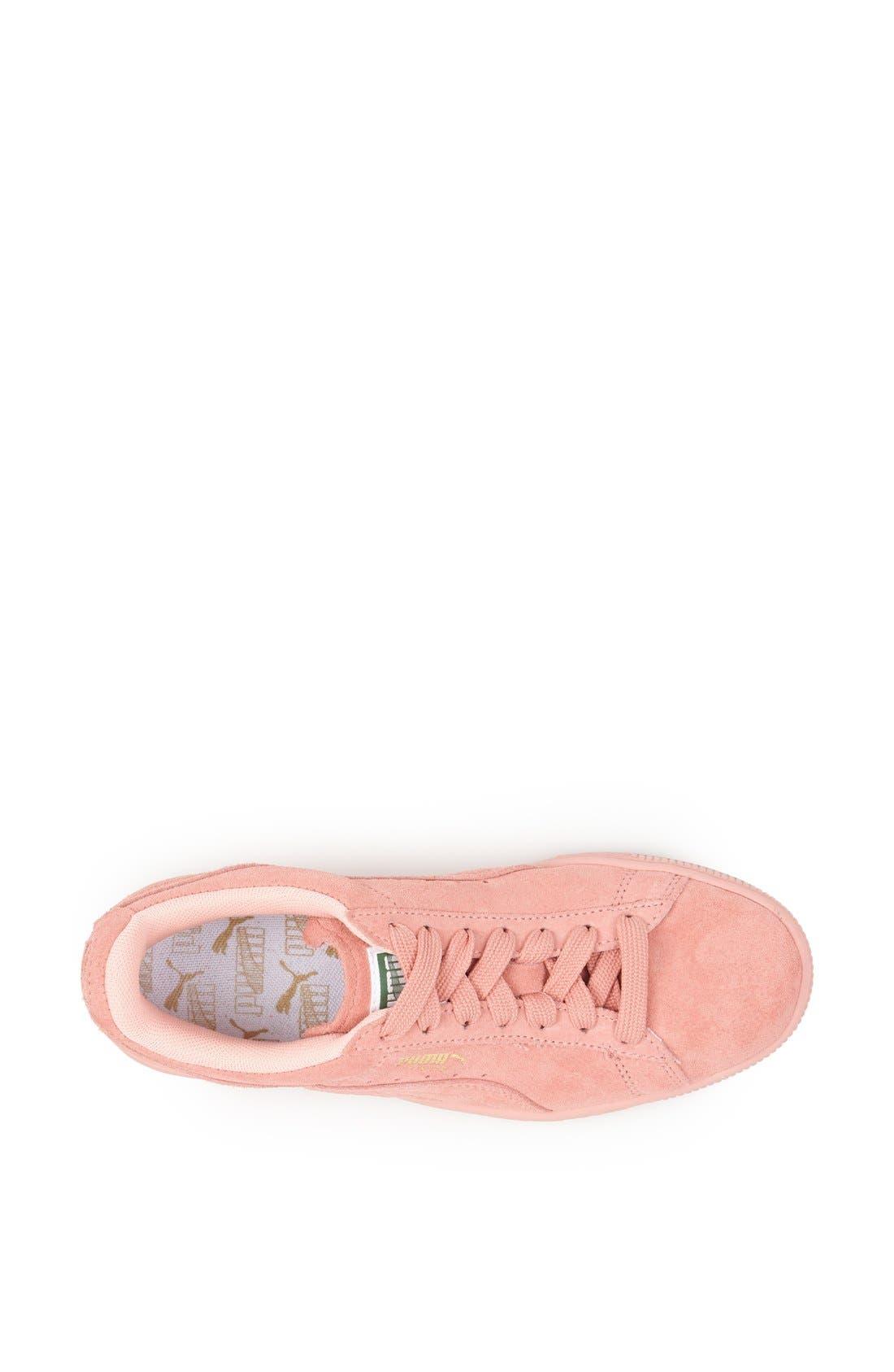 Alternate Image 6  - PUMA Suede Sneaker (Women)