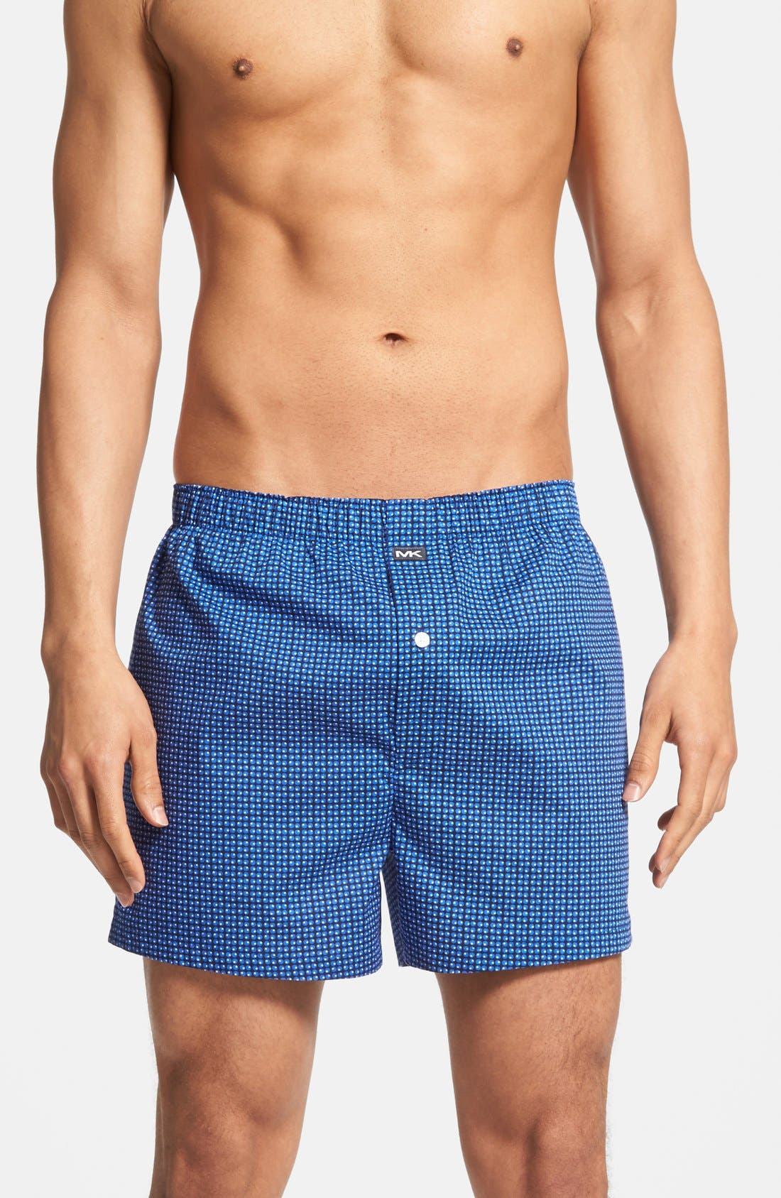 Alternate Image 4  - Michael Kors Cotton Boxers (Assorted 2-Pack)