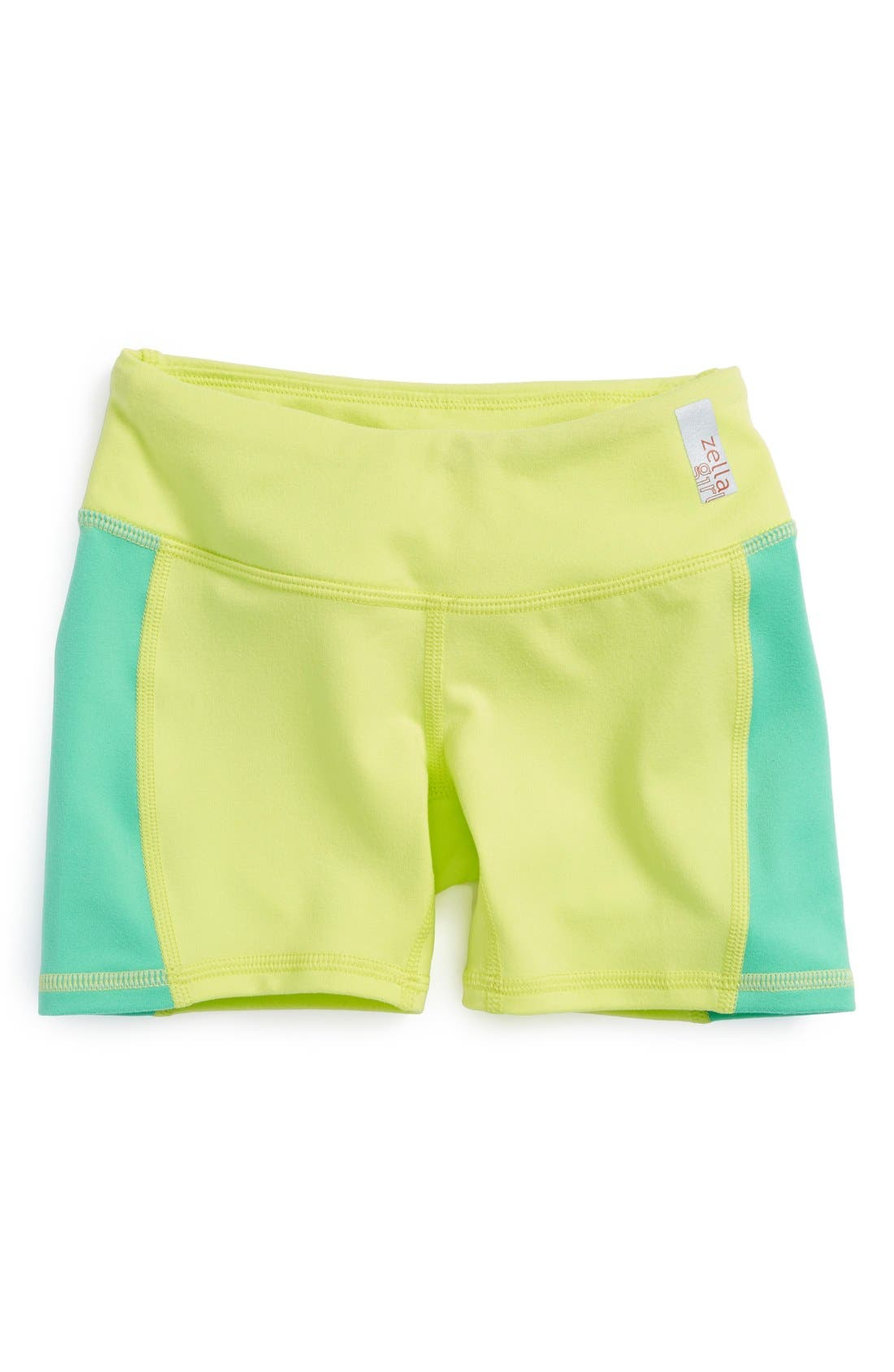 Alternate Image 1 Selected - Zella Girl 'Kinetic' Shorts (Little Girls & Big Girls)