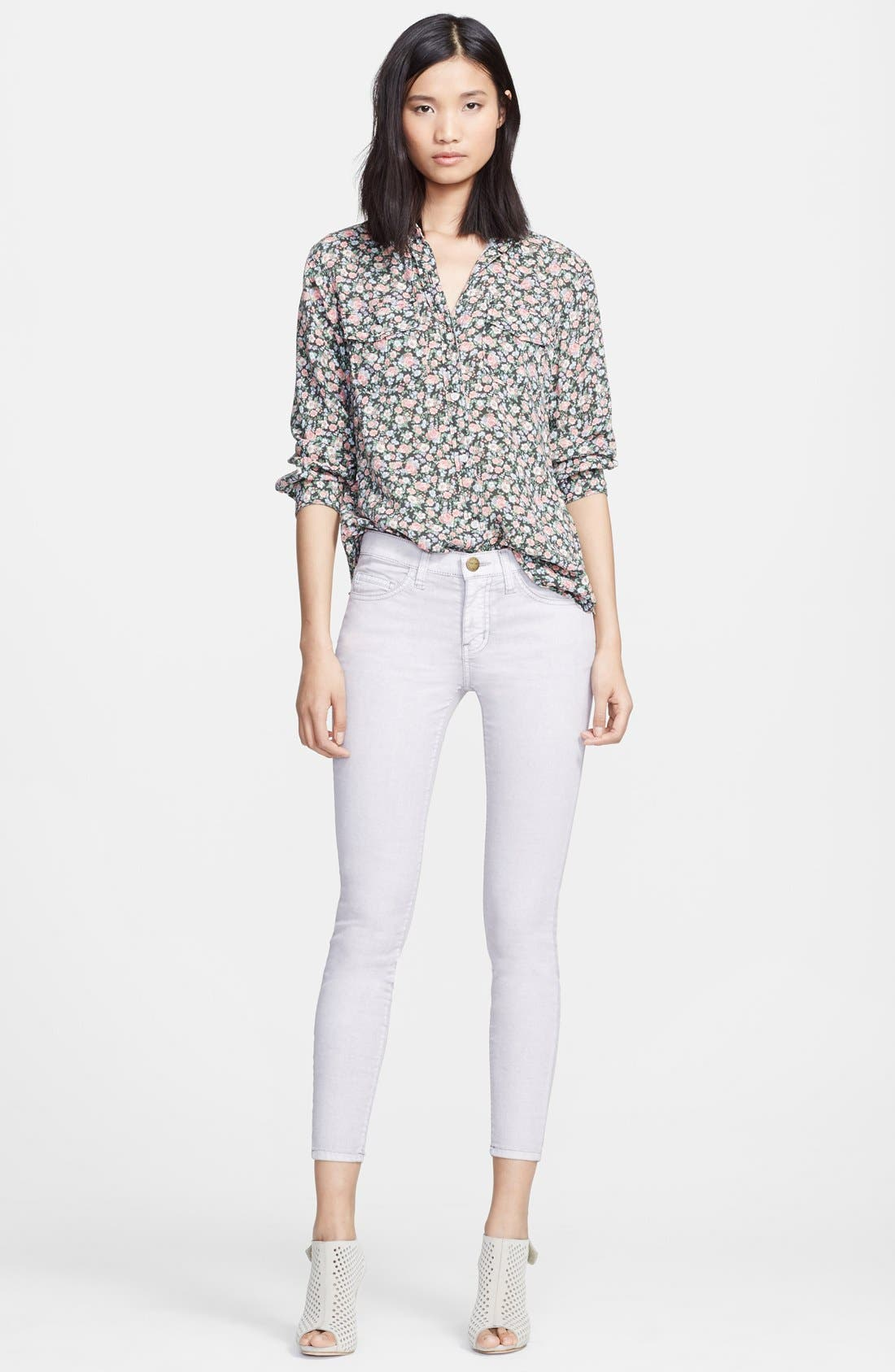 Main Image - Current/Elliott 'The Perfect Shirt' Floral Print Shirt