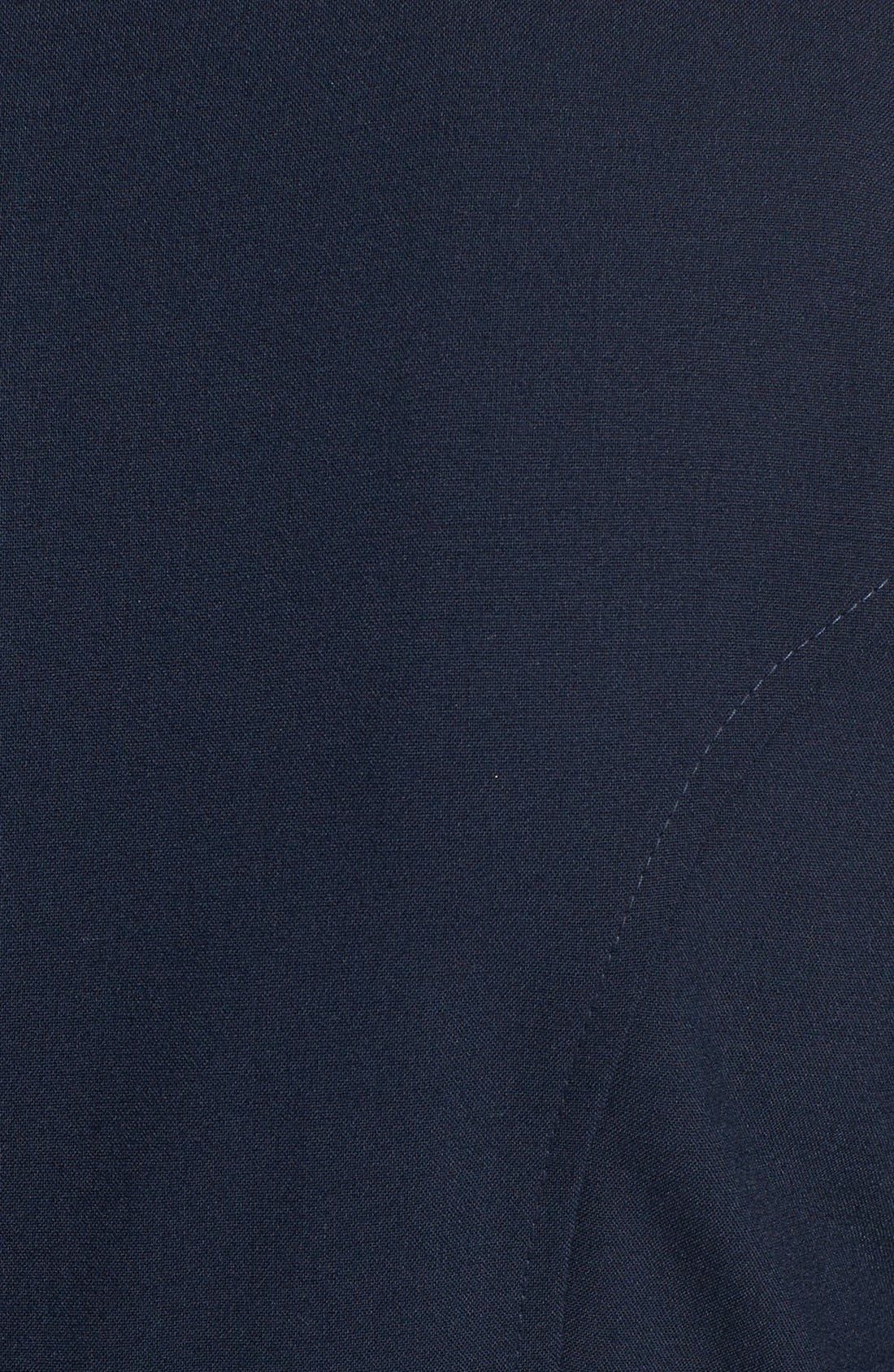 Alternate Image 4  - Tahari V-Neck Shift Dress (Regular & Petite) (Online Only)