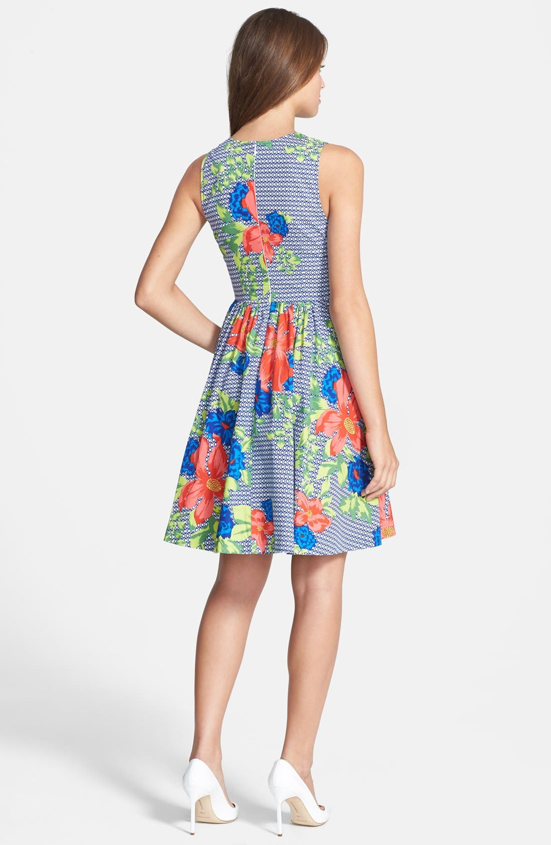 Alternate Image 2  - Plenty by Tracy Reese 'Alana' Print Fit & Flare Dress