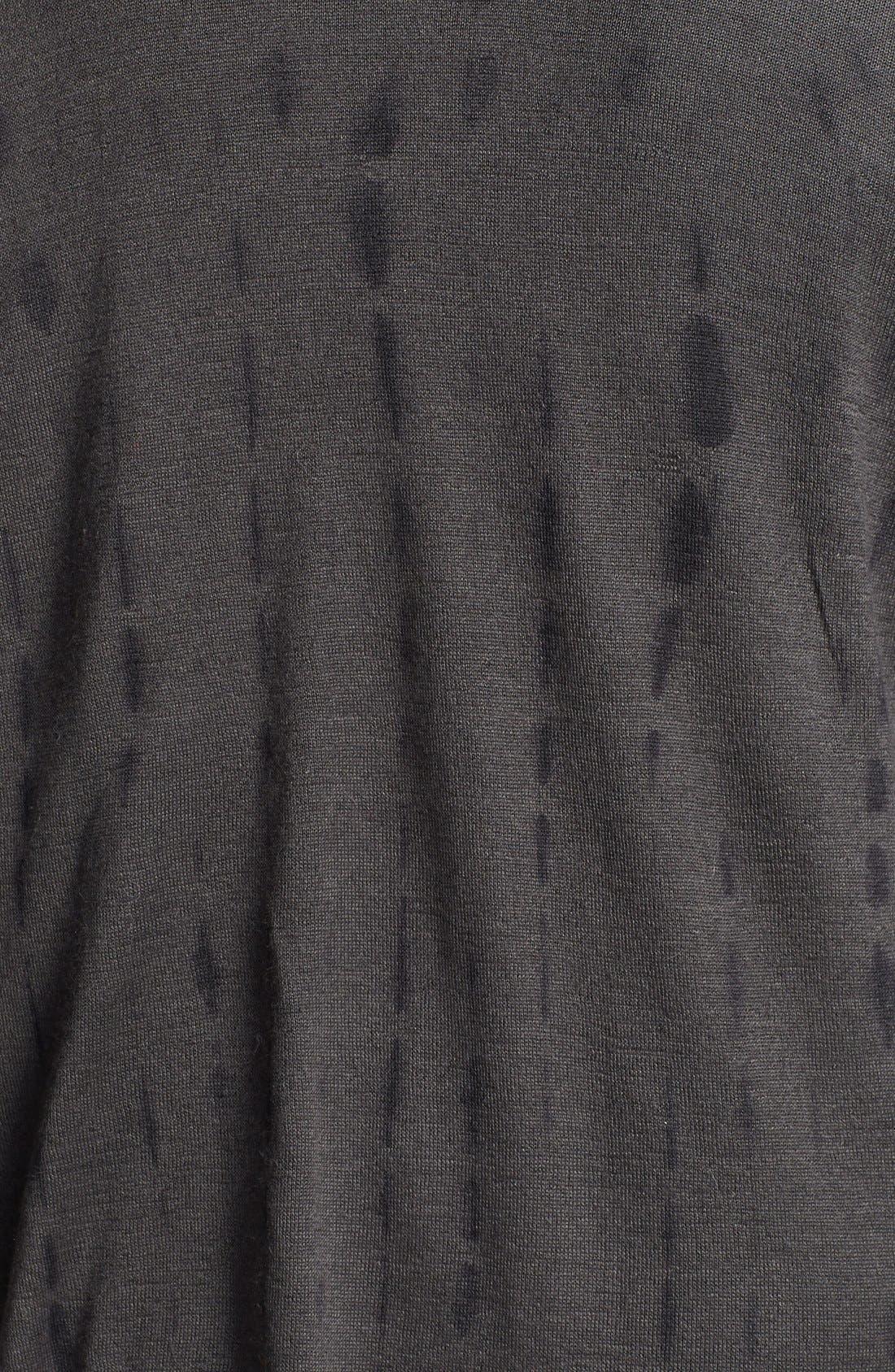 Alternate Image 3  - Eileen Fisher Tie Dye Alpaca & Silk Cardigan (Plus Size)