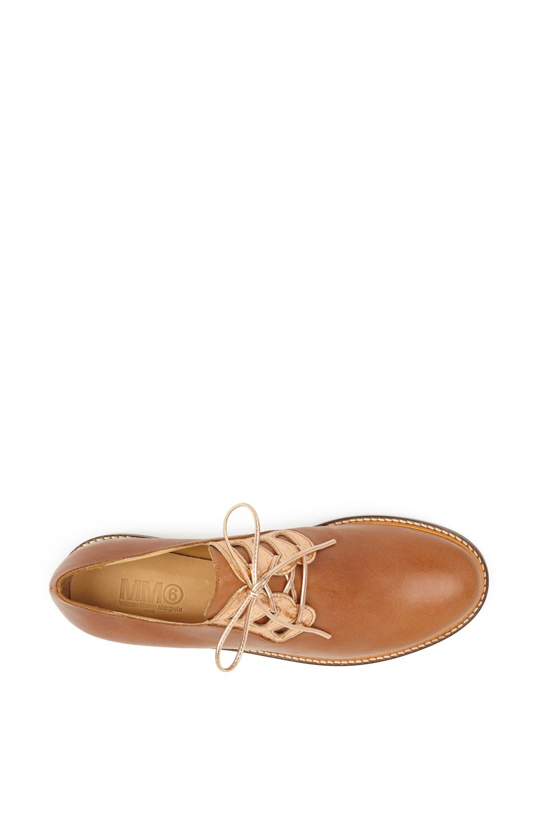 Alternate Image 4  - MM6 Maison Margiela Plain-Toe Derby