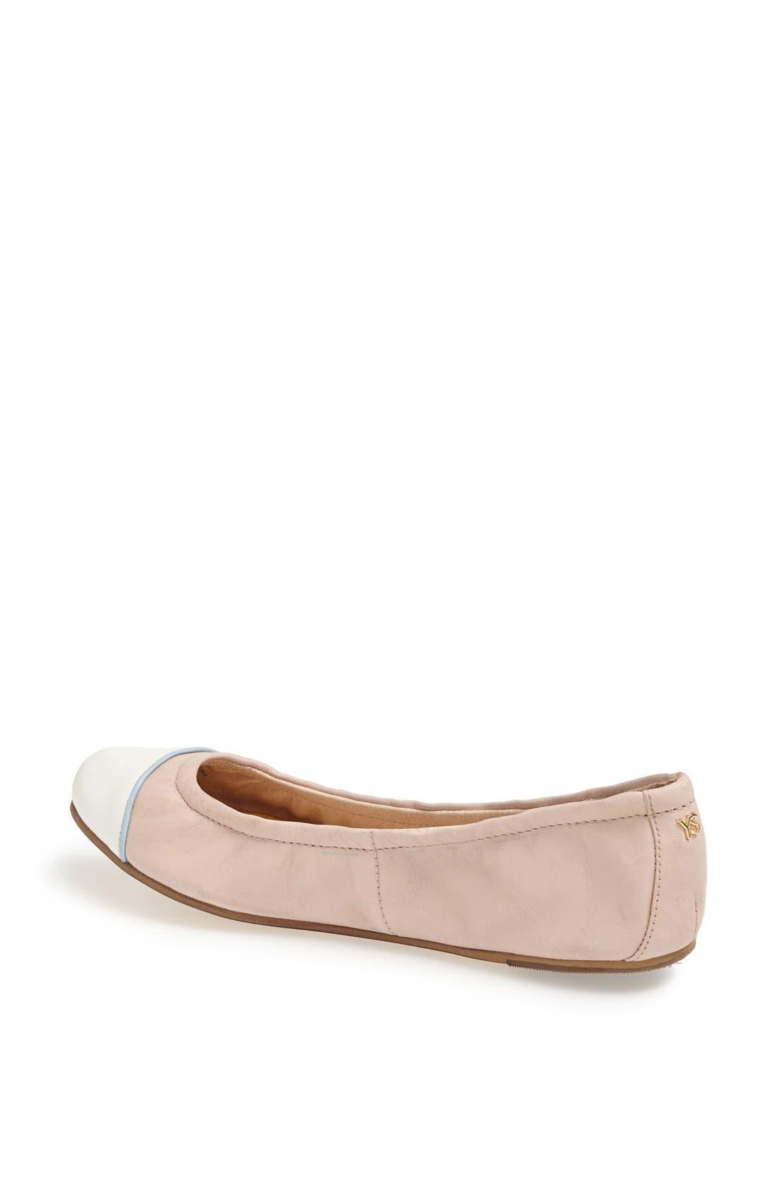 Alternate Image 2  - Yosi Samra 'Marni' Foldable Ballet Flat