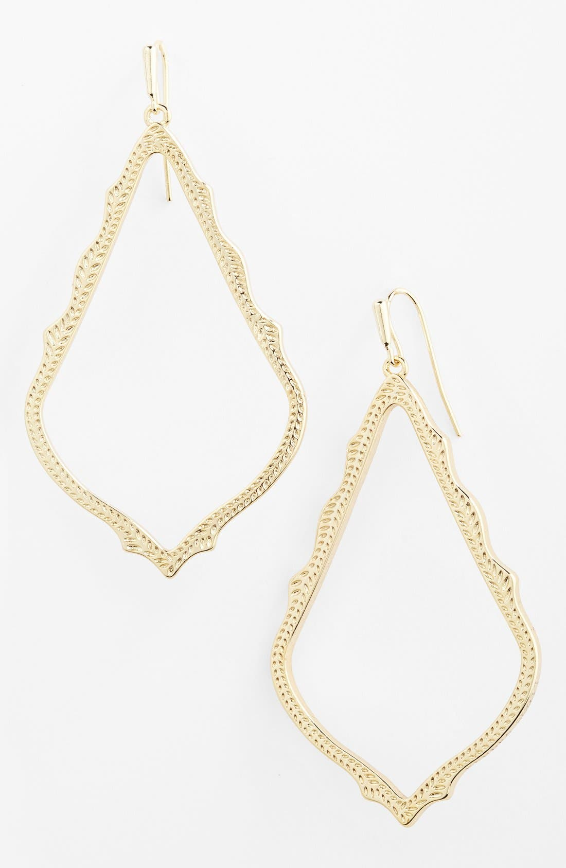 Alternate Image 1 Selected - Kendra Scott 'Sophee' Open Drop Earrings