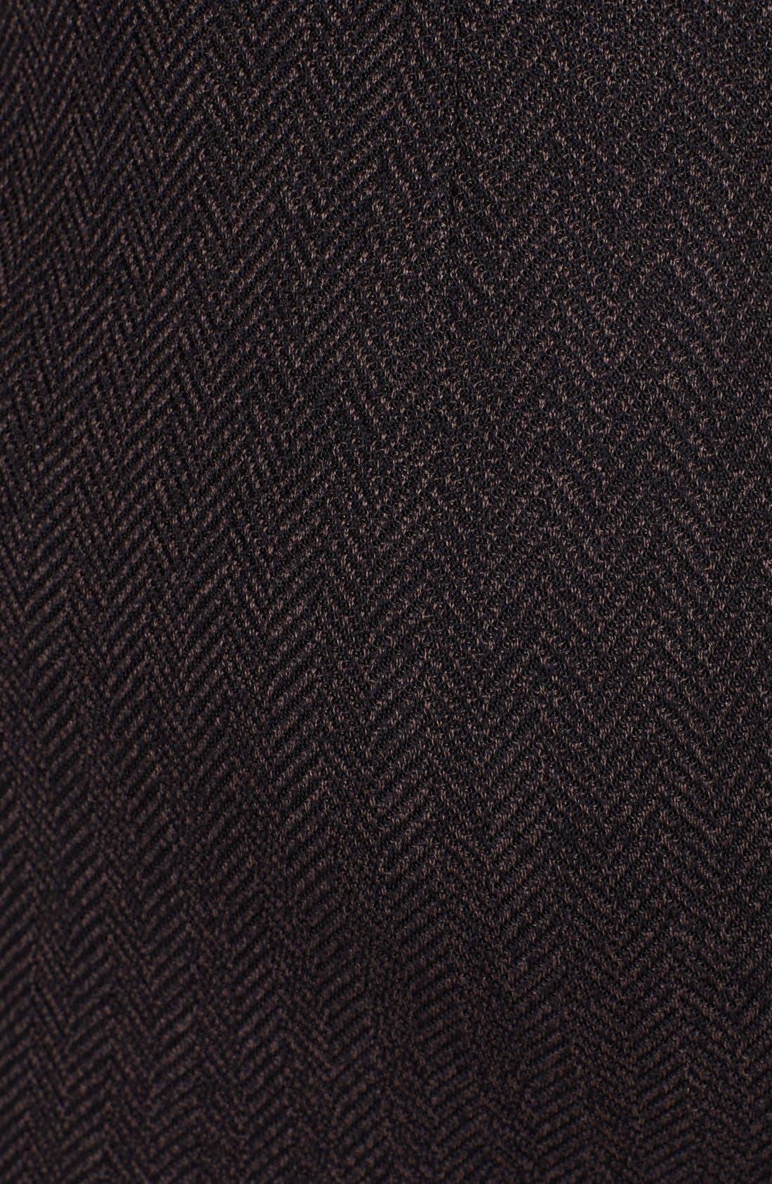 Alternate Image 3  - St. John Collection Bouclé Herringbone Knit Skirt