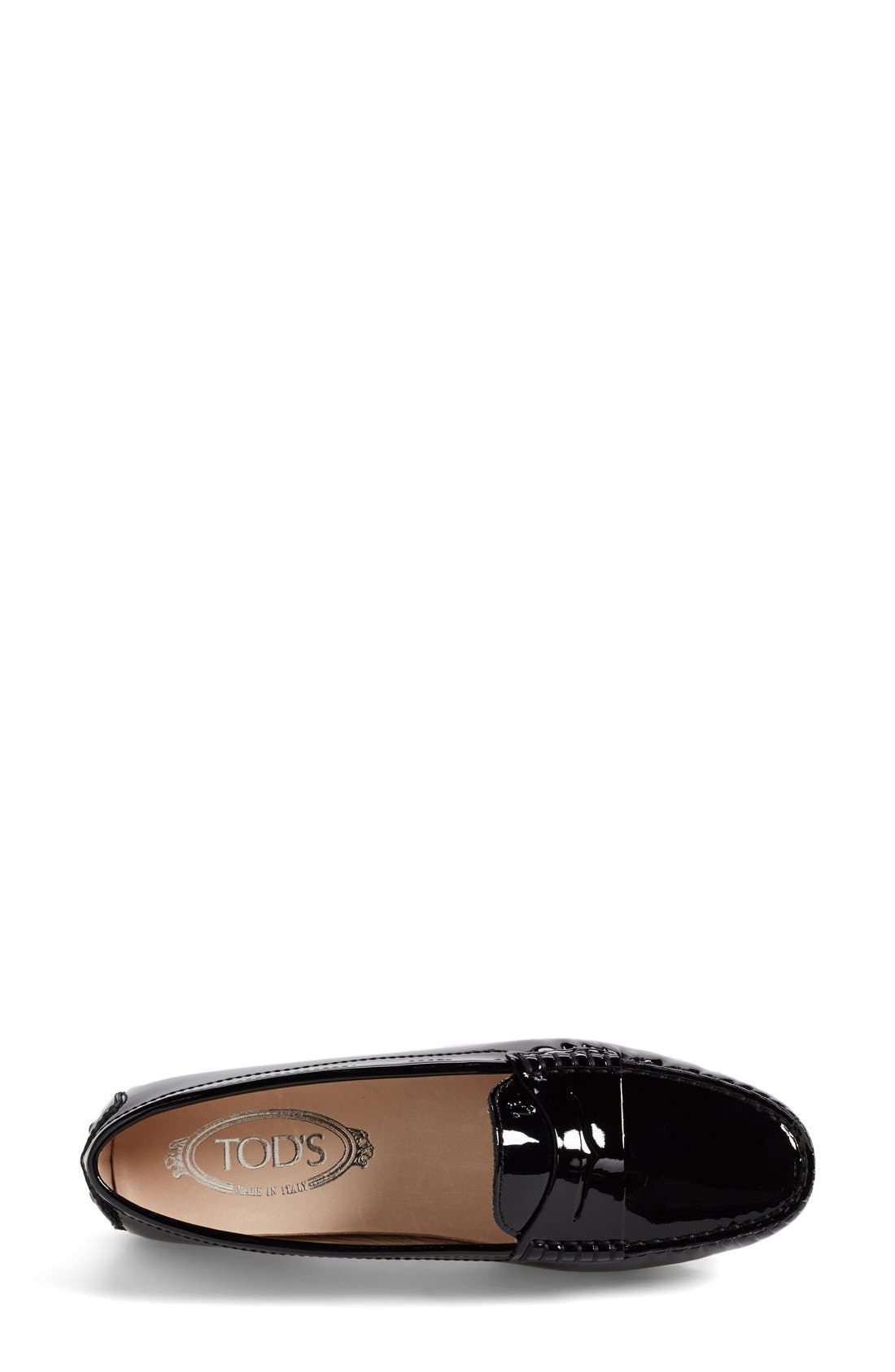 Alternate Image 3  - Tod's Patent Leather Penny Loafer (Women)