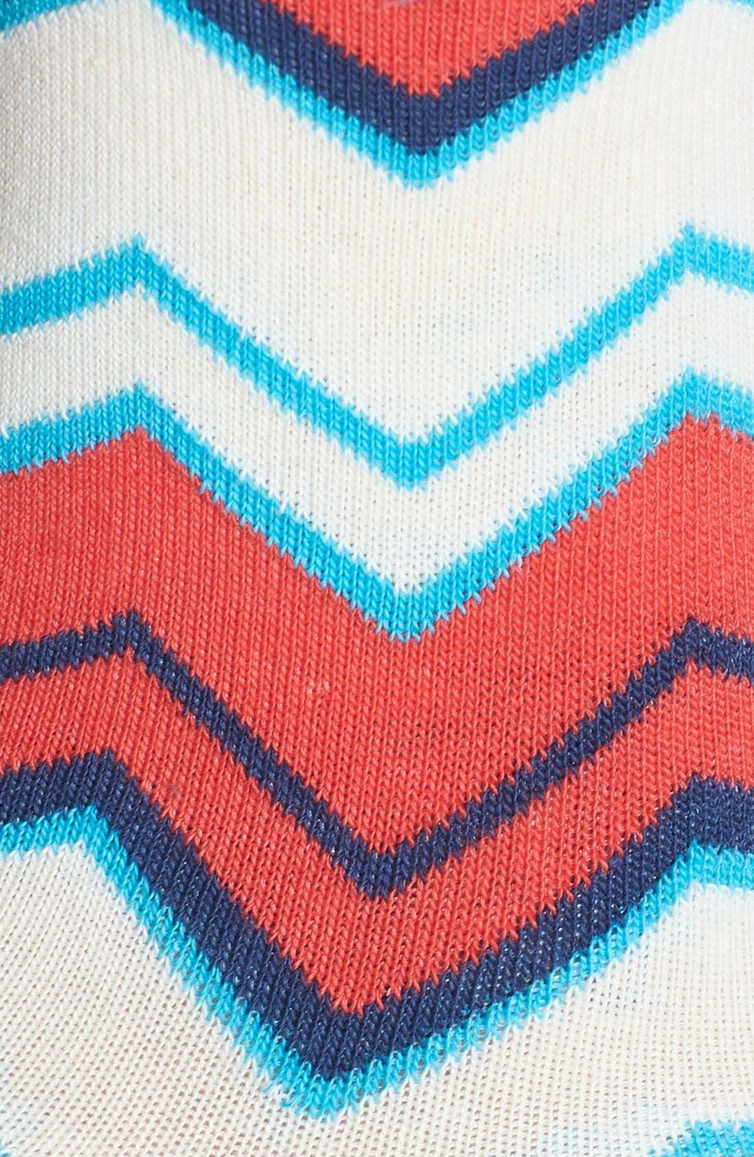 Alternate Image 2  - Pact 'Watermelon Mountain' Organic Cotton Crew Socks