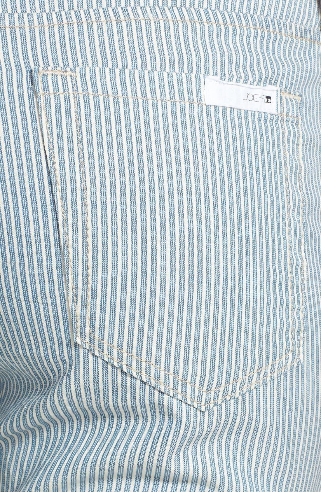 Alternate Image 3  - Joe's Stripe Crop Pants