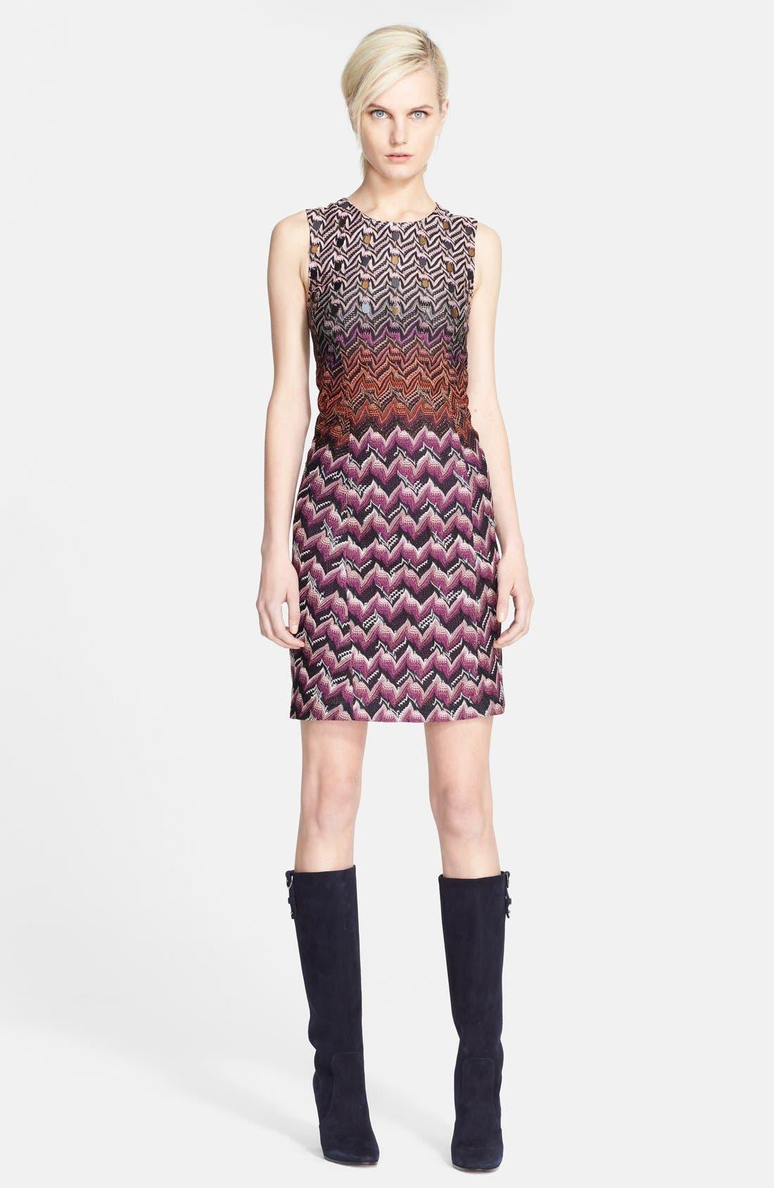 Main Image - Missoni Sequin Detail Knit Dress
