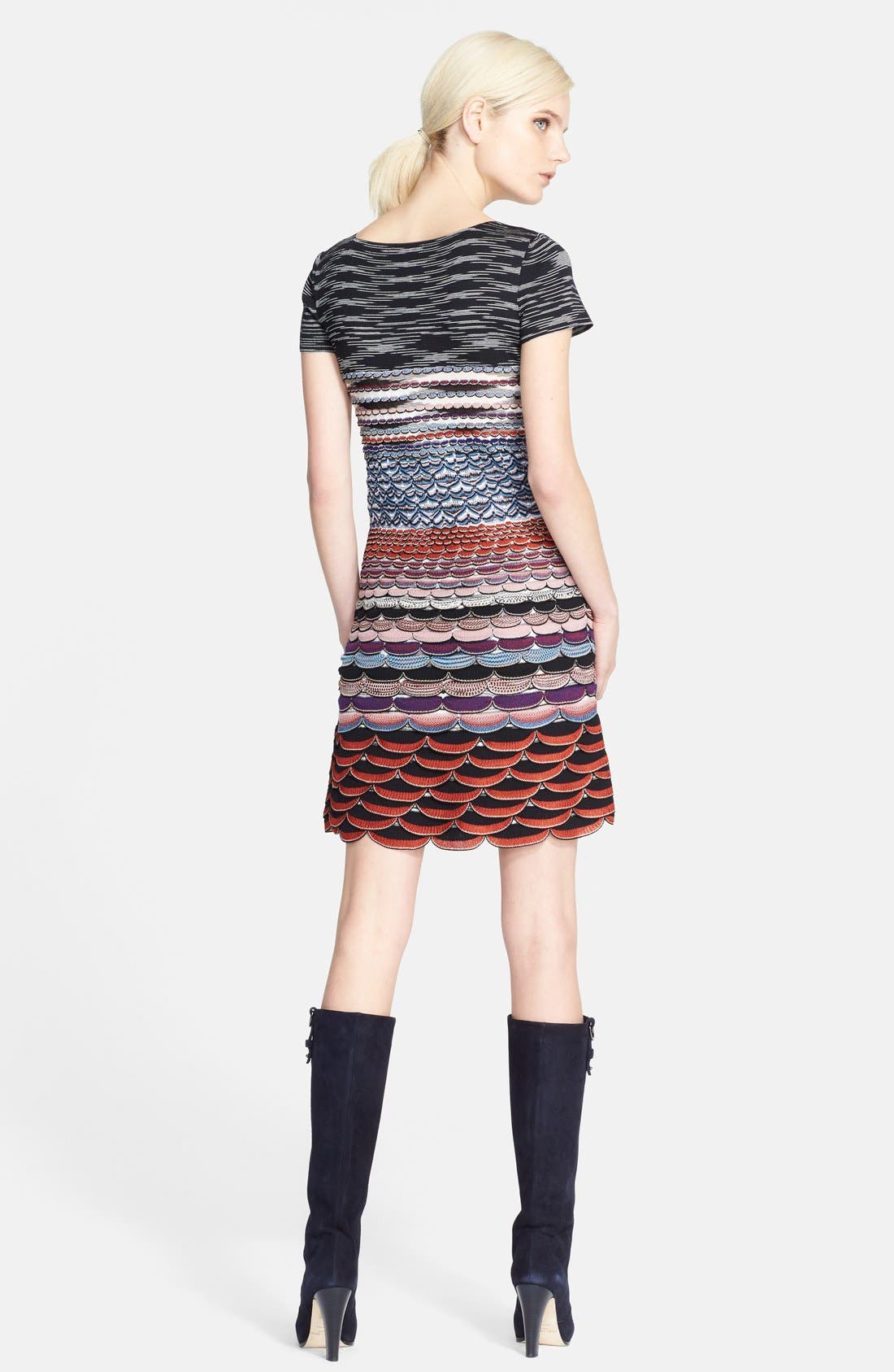 Alternate Image 2  - Missoni Wavy Knit T-Shirt Dress