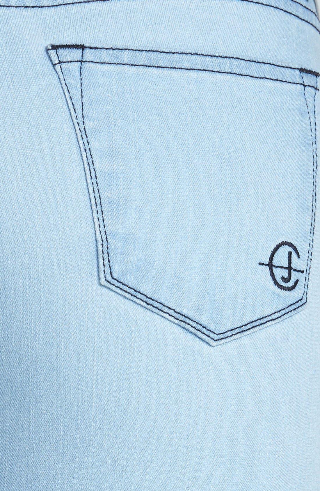 Alternate Image 3  - CJ by Cookie Johnson 'Wisdom' Stretch Ankle Skinny Jeans (Sawyer)