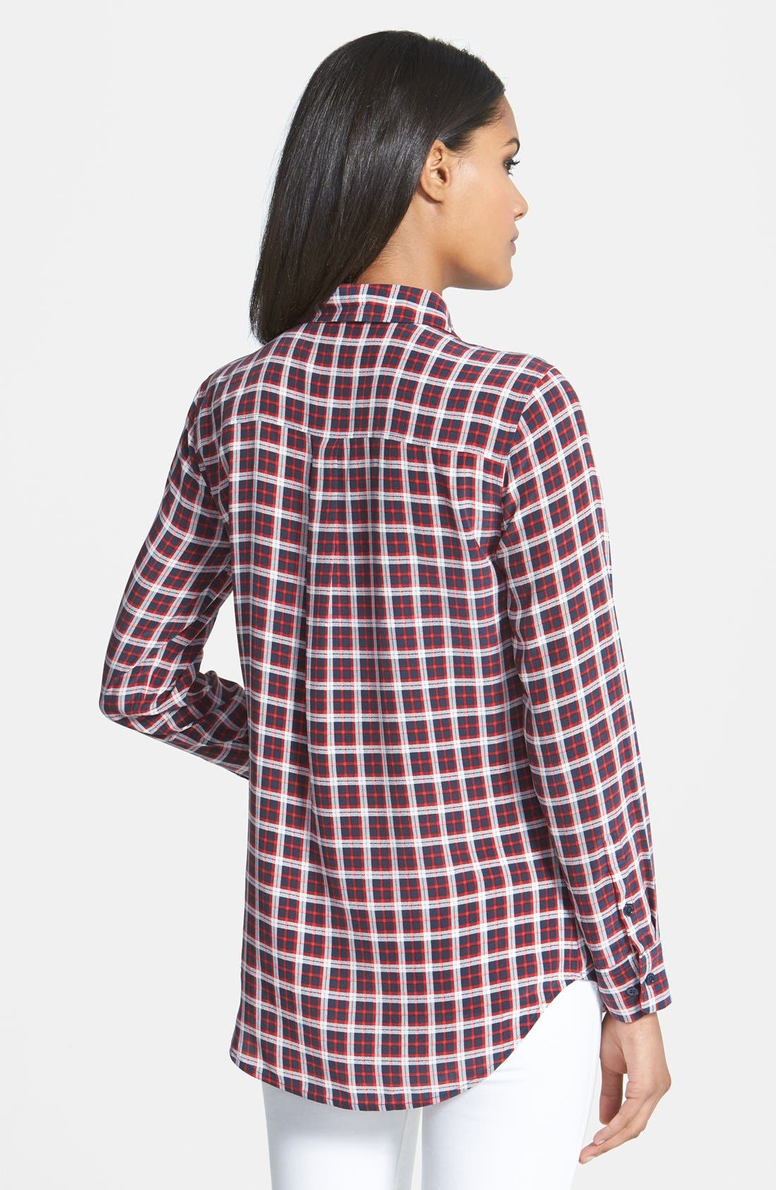 Alternate Image 2  - Equipment 'Slim Signature' Print Silk Shirt