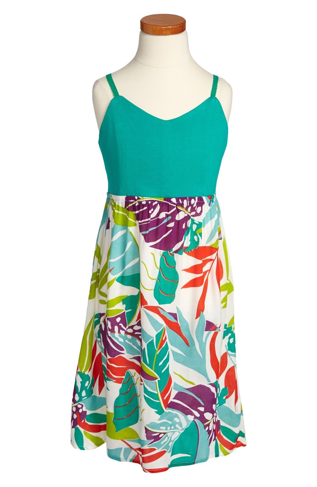 Alternate Image 1 Selected - Roxy 'Open Season' Sleeveless Maxi Dress  (Big Girls)