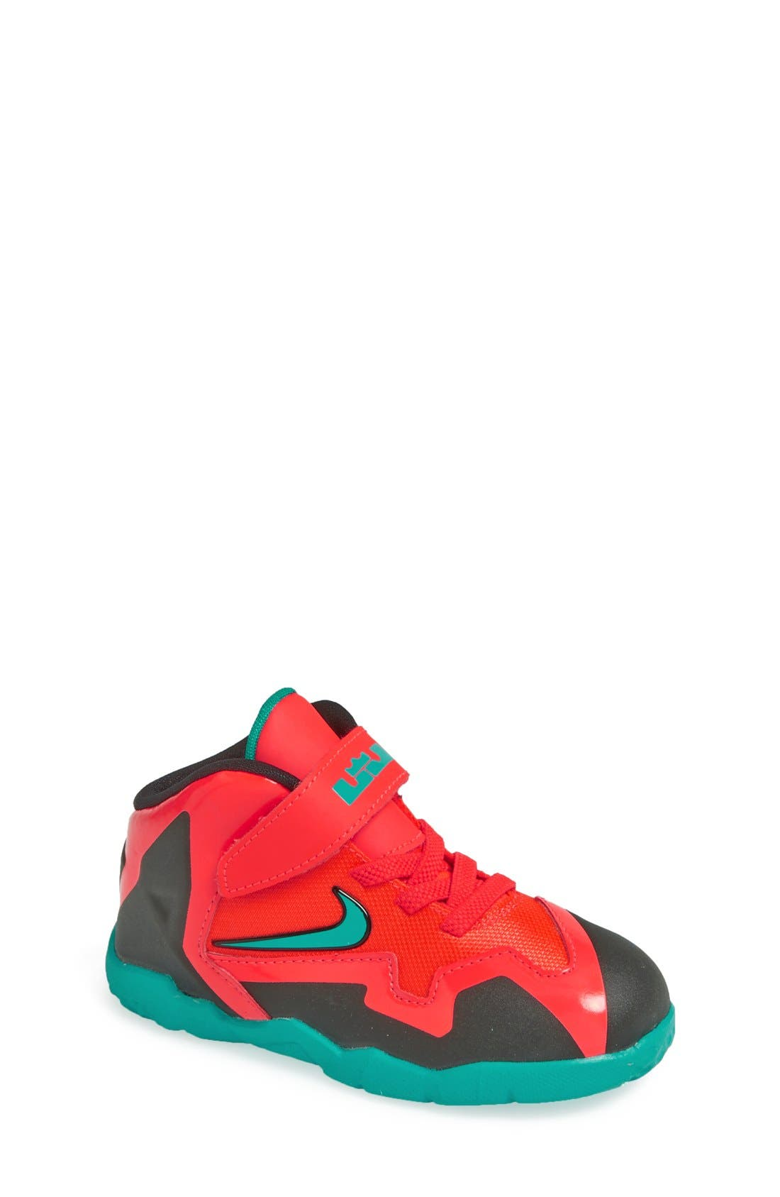 Alternate Image 1 Selected - Nike 'LeBron XI' Sneaker (Walker & Toddler)