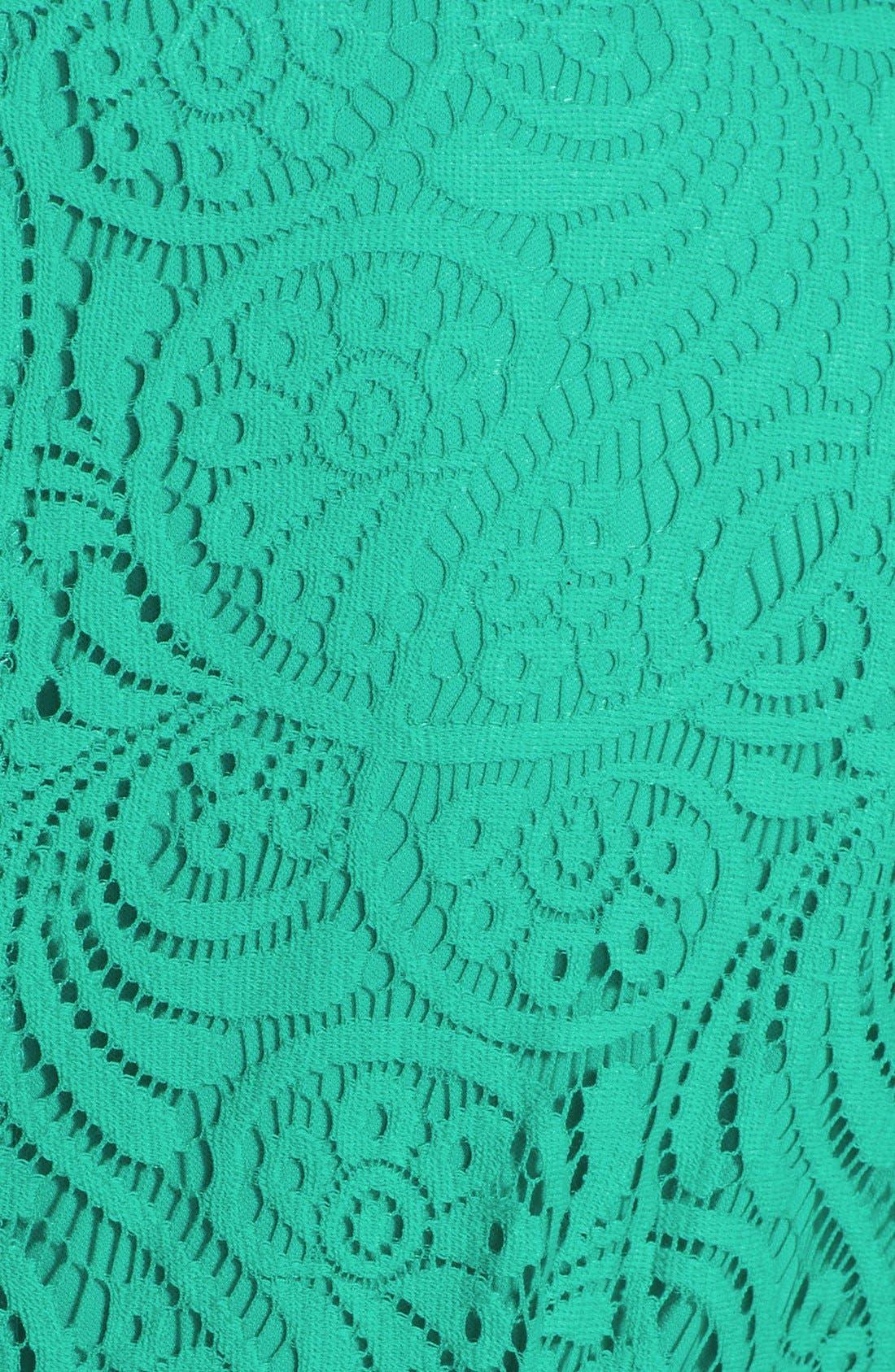 Alternate Image 3  - Jessica Howard Soutache Neck Lace Sheath Dress (Plus Size)