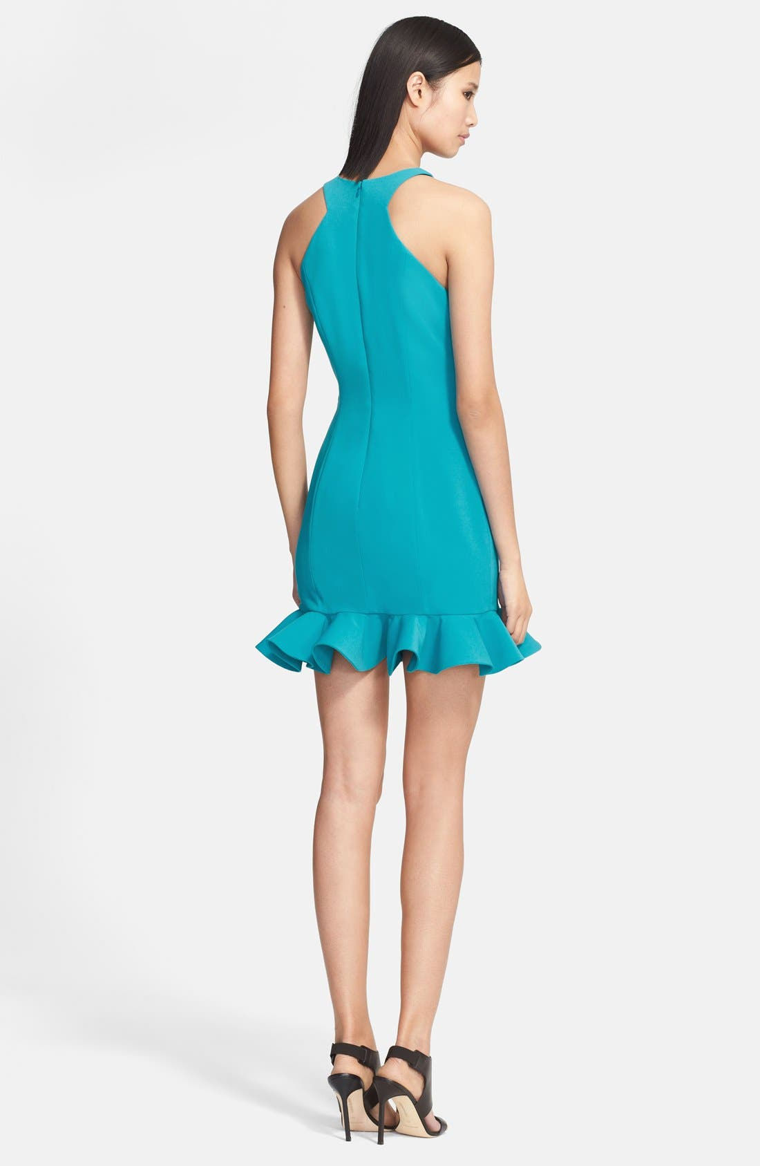 Alternate Image 2  - Jay Godfrey 'Abigail' Racerfront Stretch Crepe Dress