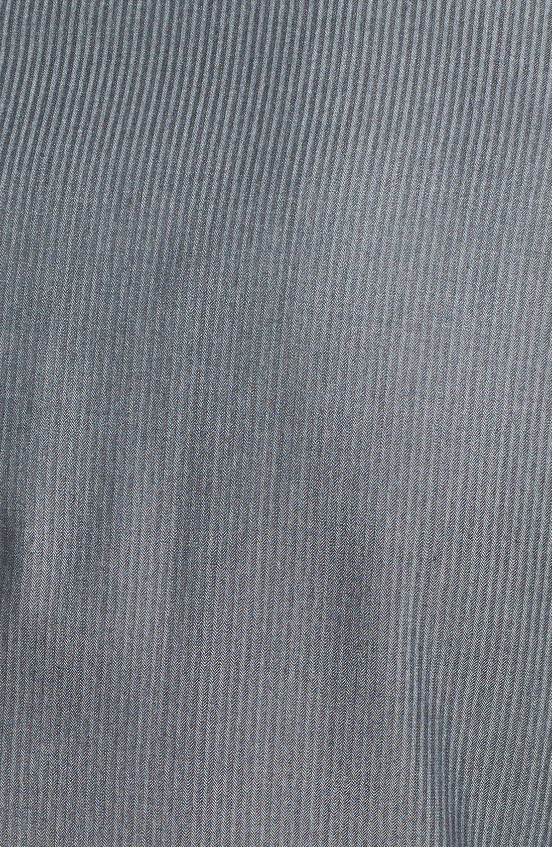 Alternate Image 5  - Canali Classic Fit Herringbone Suit