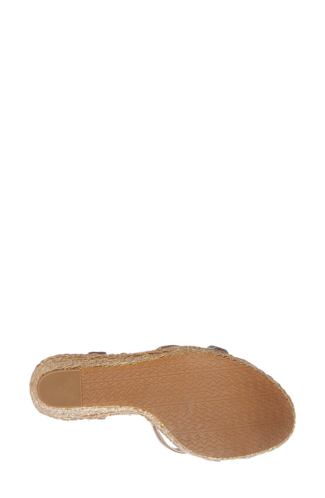 Alternate Image 4  - MICHAEL Michael Kors 'Cicely' Quarter Strap Sandal