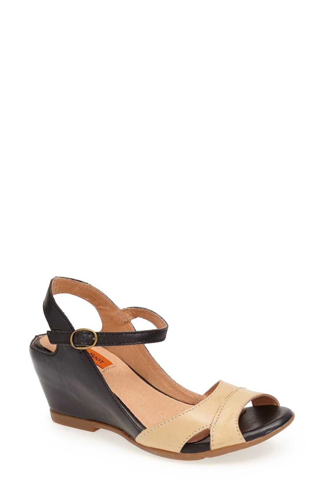 Alternate Image 1 Selected - Miz Mooz Footwear 'Cosette' Wedge Sandal (Women)
