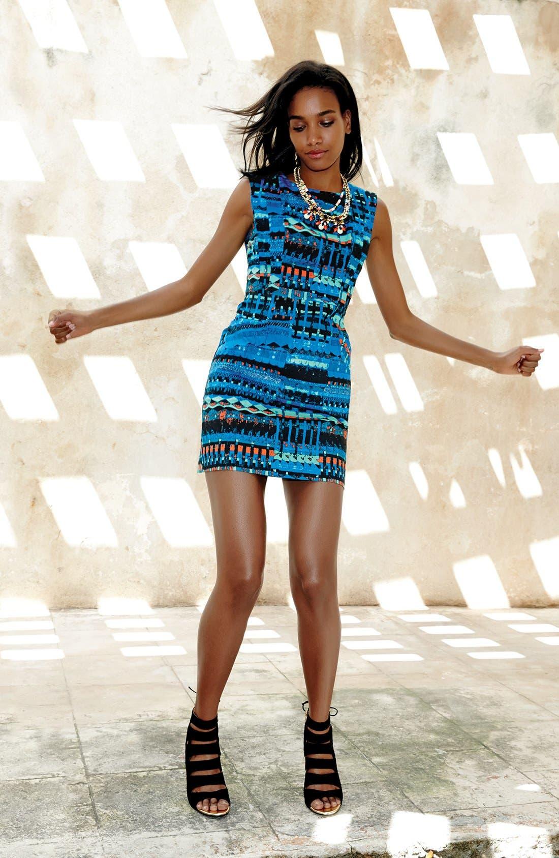 Alternate Image 5  - Plenty by Tracy Reese 'Vanessa' Print Sheath Dress (Regular & Petite)