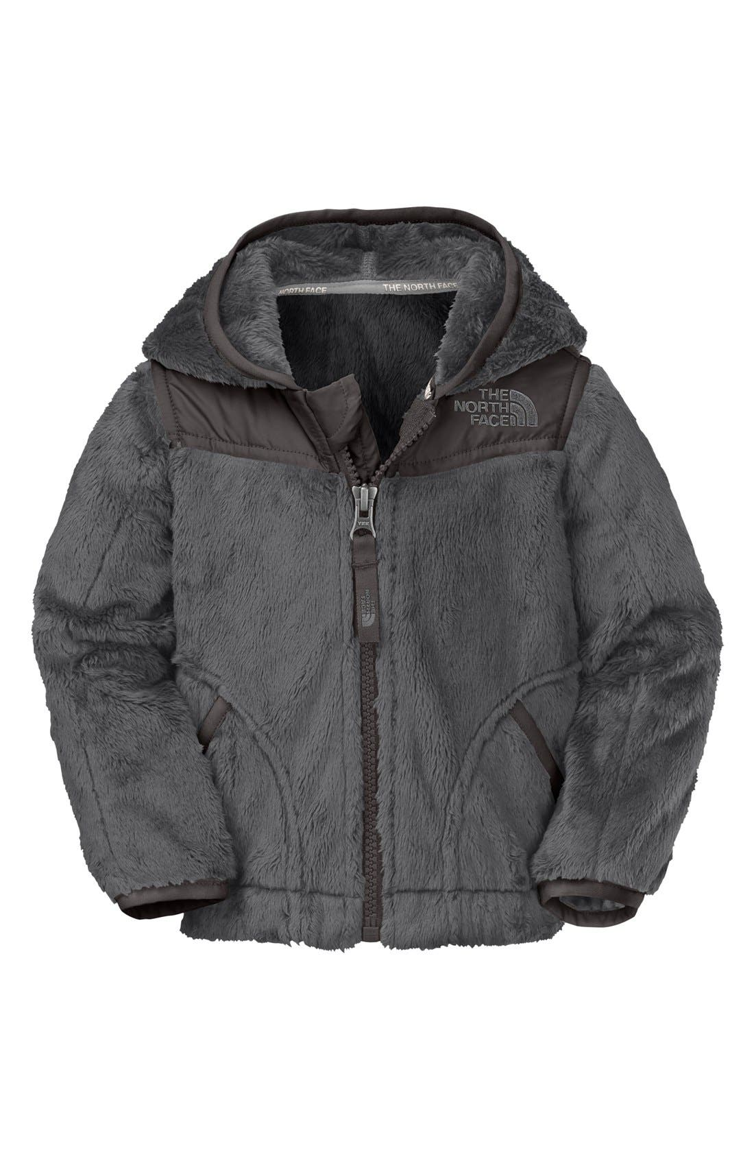 Main Image - The North Face 'Oso' Fleece Hoodie (Baby Boys)