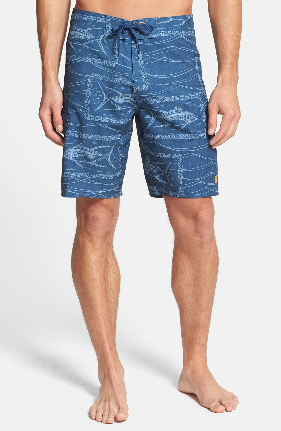 Alternate Image 1 Selected - Quiksilver 'Swell' Stretch Board Shorts