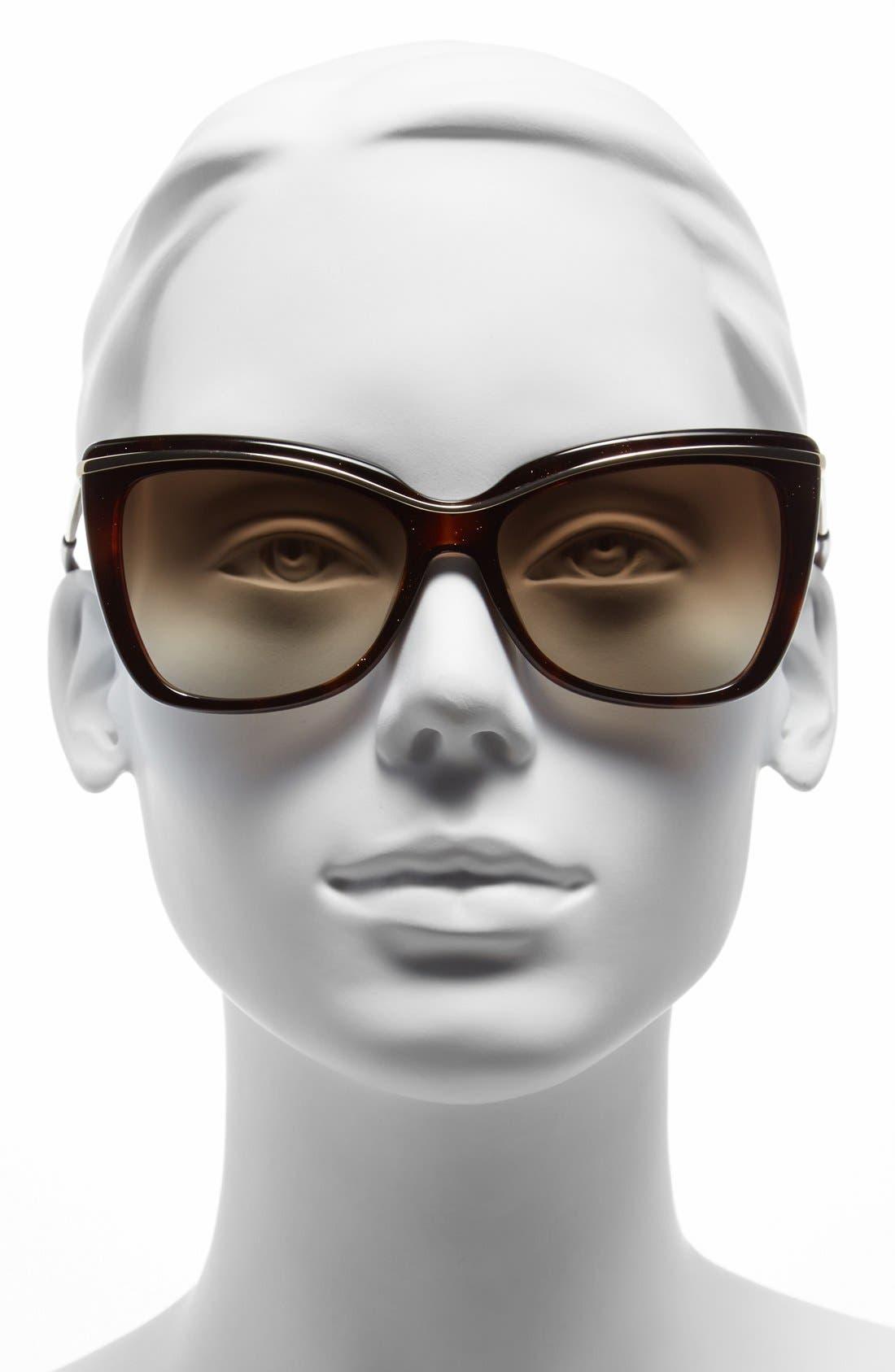 Alternate Image 2  - MARC JACOBS 56mm Cat Eye Sunglasses