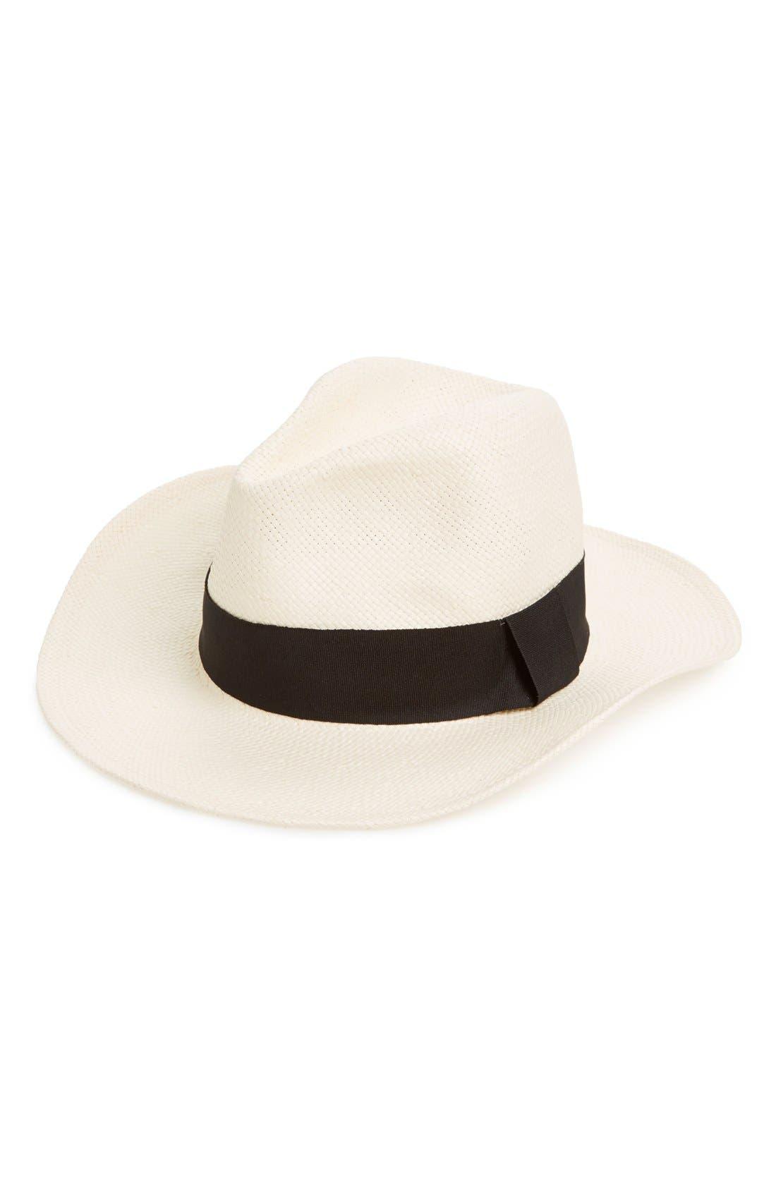 Alternate Image 1 Selected - Michael Stars 'Well Weathered' Straw Panama Hat