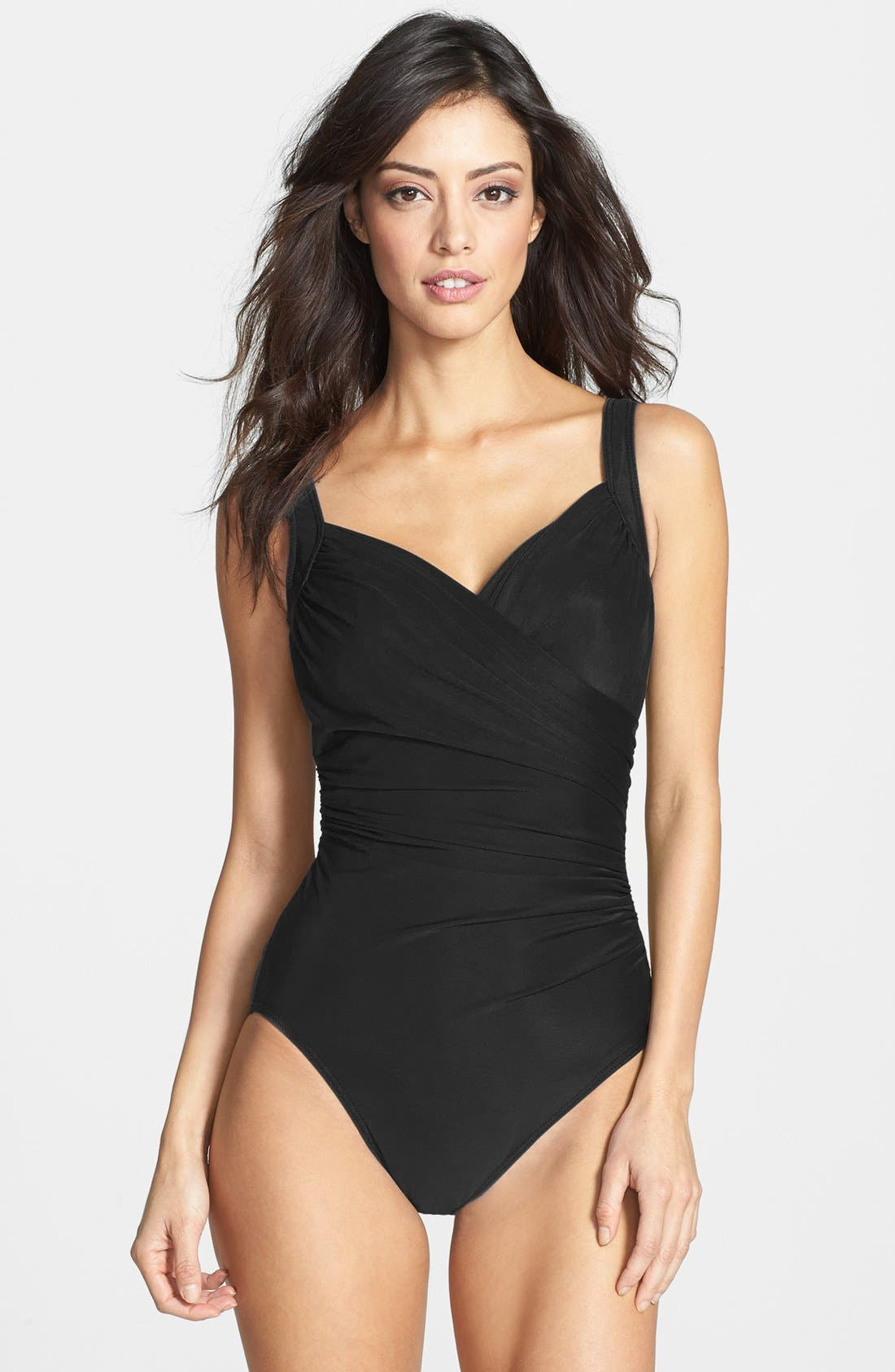 Alternate Image 1 Selected - Miraclesuit® 'Sanibel' Underwire One-Piece Swimsuit